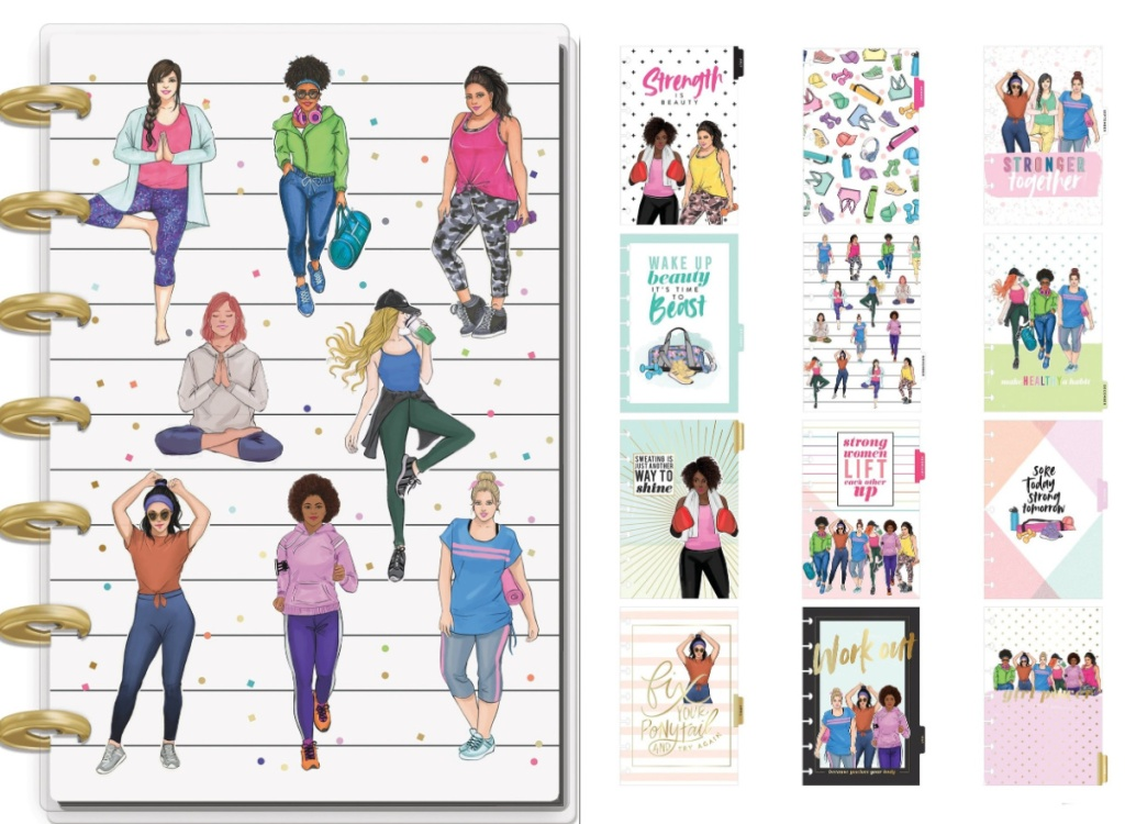 Happy Planner notebook and dividers