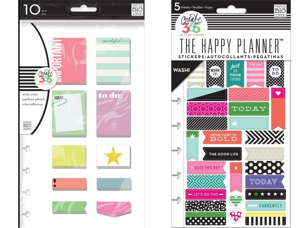 the happy planner accessories