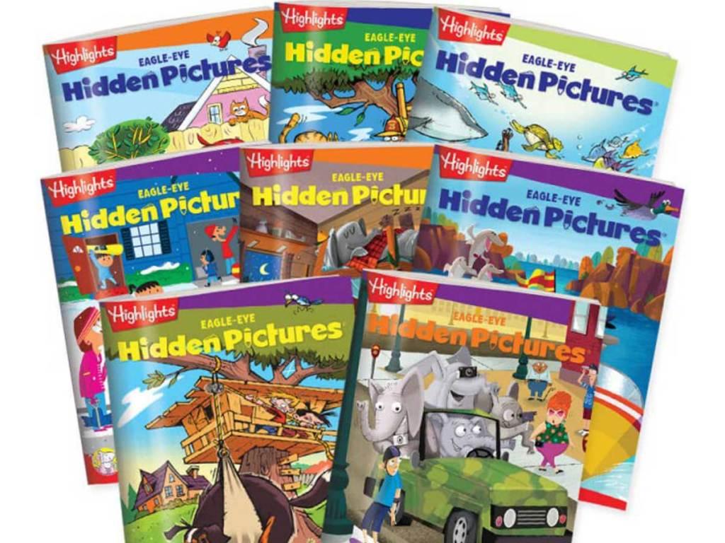 hidden picture books 8 set