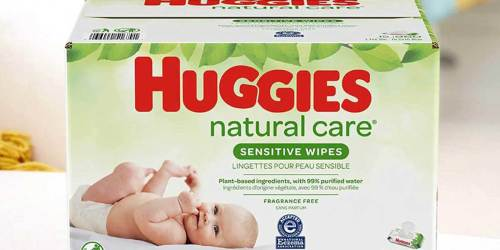 Huggies Natural Care Baby Wipes 528-Count Just $9.80 Shipped on Amazon