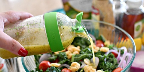 Shake Up Your Salad Dressings Without Leaks or Spills Using THIS Shaker!