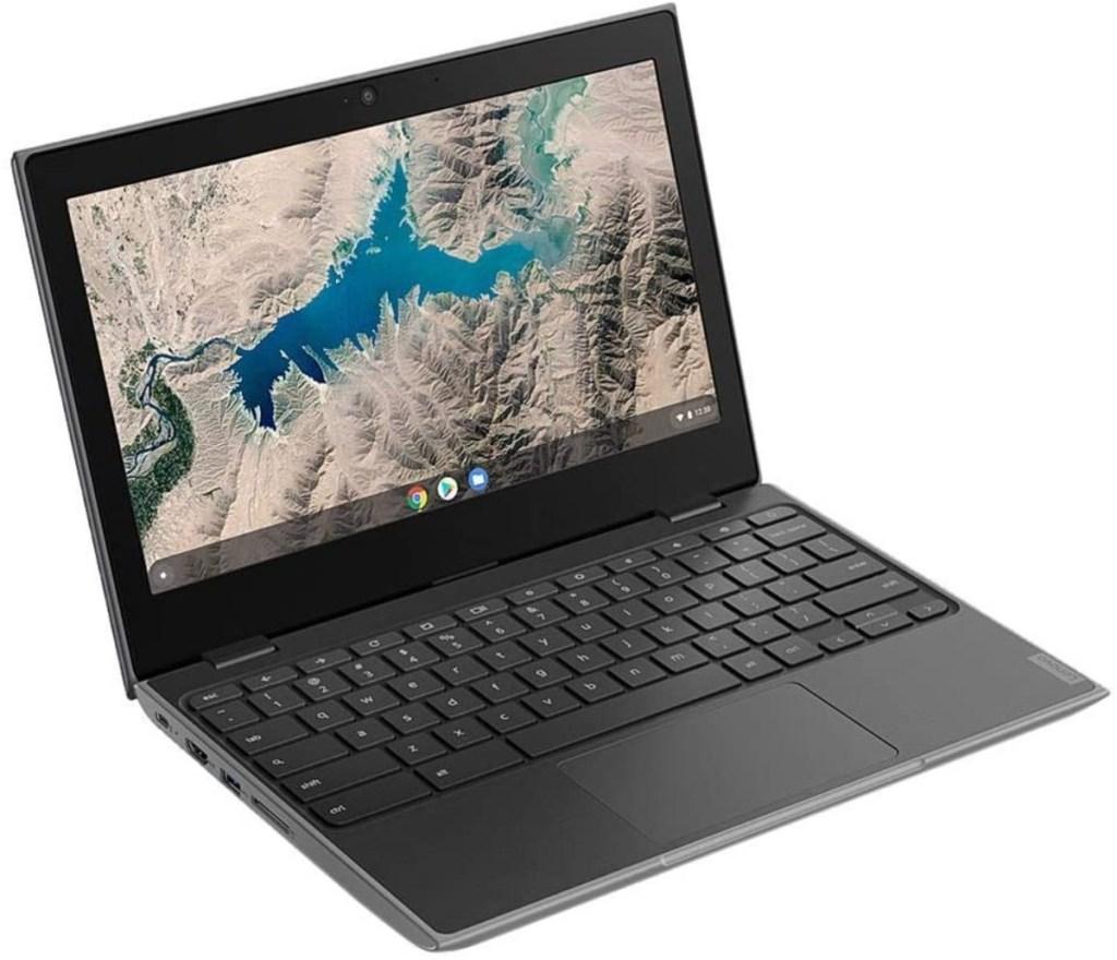 open Lenovo Chromebook