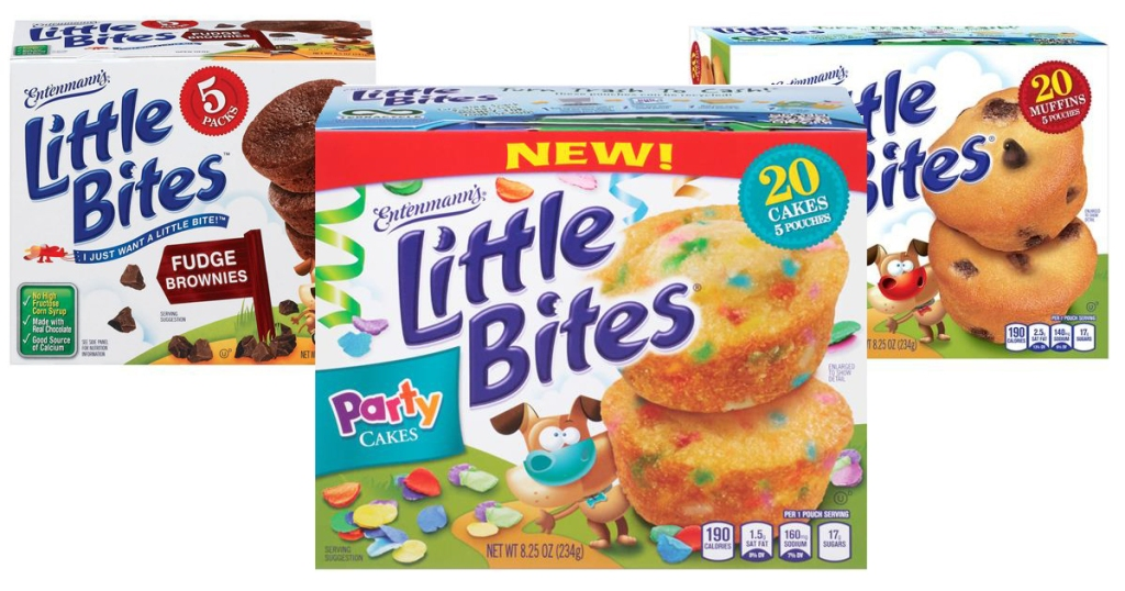 little-bites three varieties in boxes