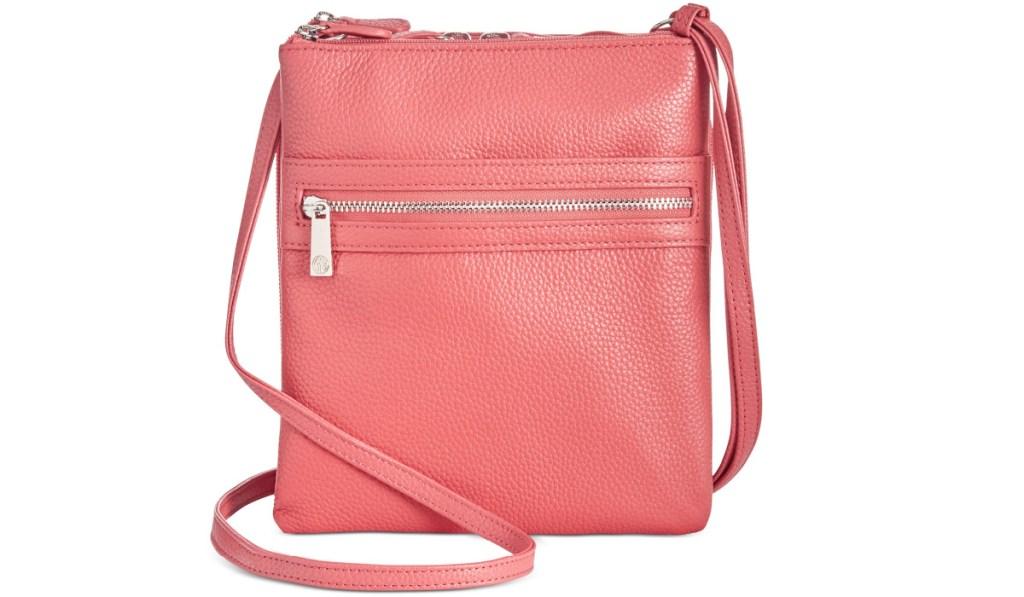 pink crossbody