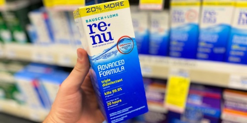 FREE Renu Multi-Purpose Contact Solution After CVS Rewards