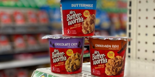 Mrs. Butterworth's Pancake Breakfast Cups Only $1 at Dollar Tree
