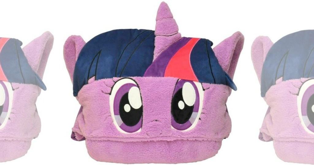my little pony sleeping bag folded up