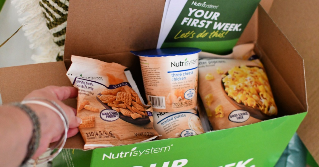 nutrisystem first 7 day box
