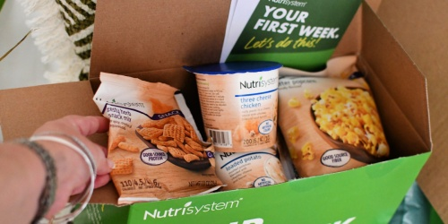 Score 50% Off a Nutrisystem Meal Plan for Your First 2 Months AND 12 FREE Bonus Grocery Items