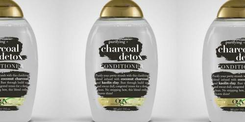 OGX Purifying + Charcoal Detox Conditioner Just $3 Shipped on Amazon (Regularly $9)