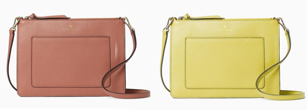 kate spade crossbody on purpose bags tawny and yellow