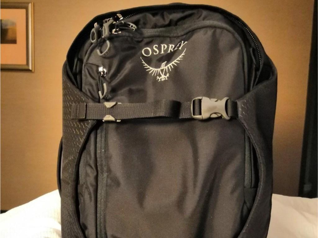 black osprey bag