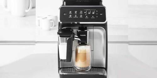 Phillips Automatic Espresso Machine w/ LatteGo Only $649.99 (Regularly $800)