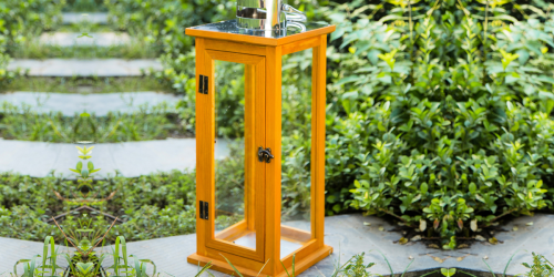 Better Homes & Gardens Outdoor Wood Lantern Only $19.99 on Walmart.com (Regularly $50)