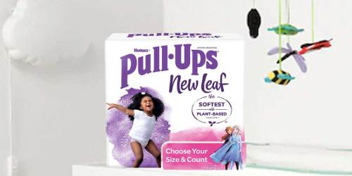 Huggies Pull Ups New Leaf Diapers Only $2.99 After Cash Back at Target | Made w/ Plant-Based Materials