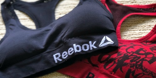 Reebok Women's Bralettes 2-Pack Only $14.99 Shipped (Just $7.50 Each!)