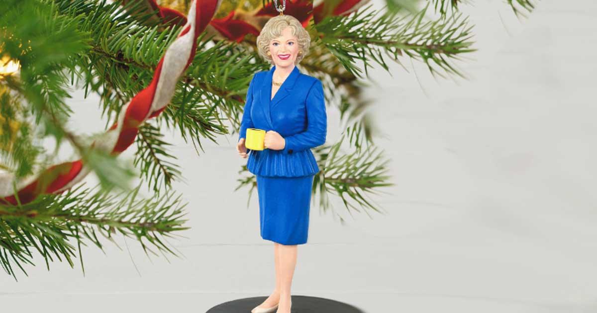 Rose Nylund golden girls ornament