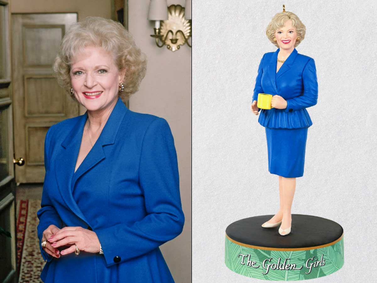 rose nylund betty white ornament
