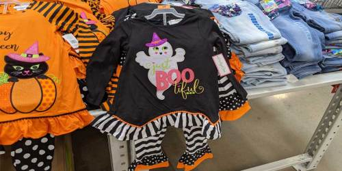 These Girls Halloween Leggings Sets Are Perfect for Pics & Only $14.98 at Sam's Club