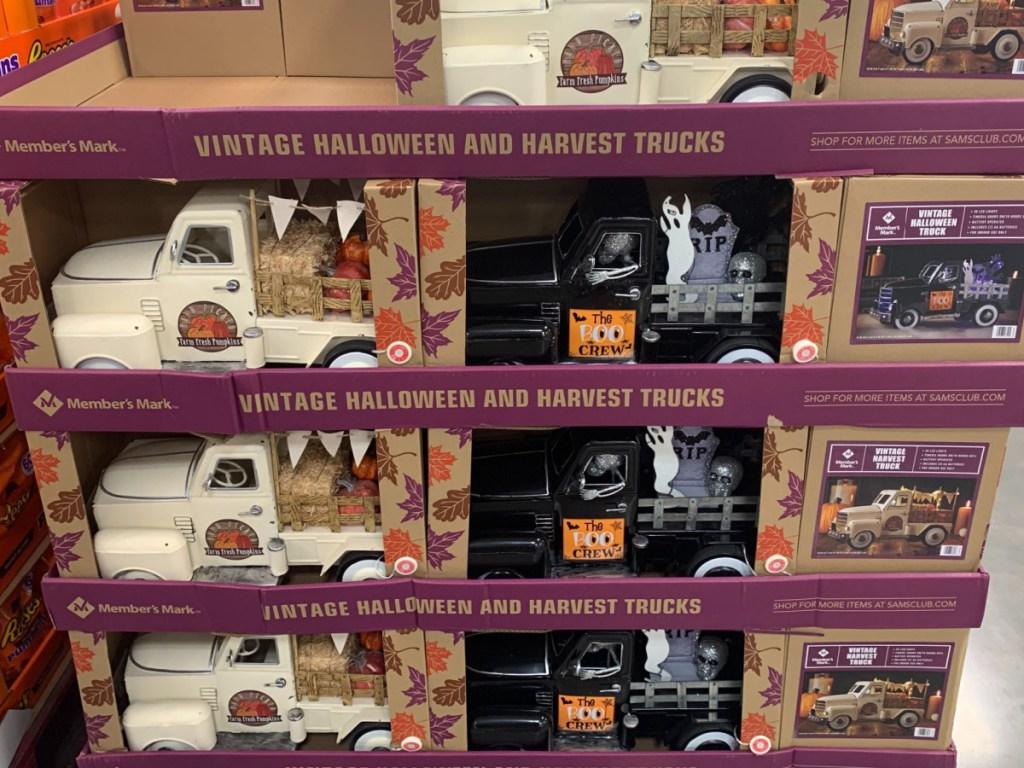 sam's club members mark vintage halloween truck
