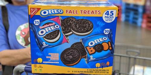 Halloween Snacks Now Available at Sam's Club | Perfect for Trick-or-Treaters or School Snacks