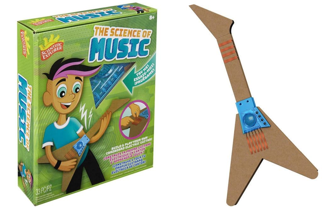 The Science of Music kit and guitar