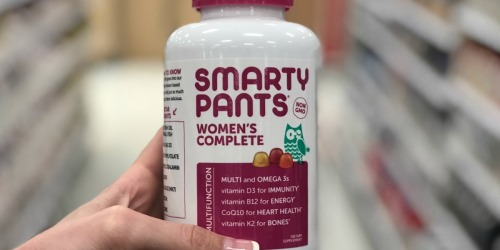 Smarty Pants Women's 120-Count Vitamins Just $8.99 After Cash Back at Target (Regularly $20)