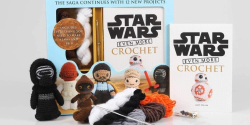 Star Wars Crochet Kit Only $9.99 on Amazon (Regularly $25) + More