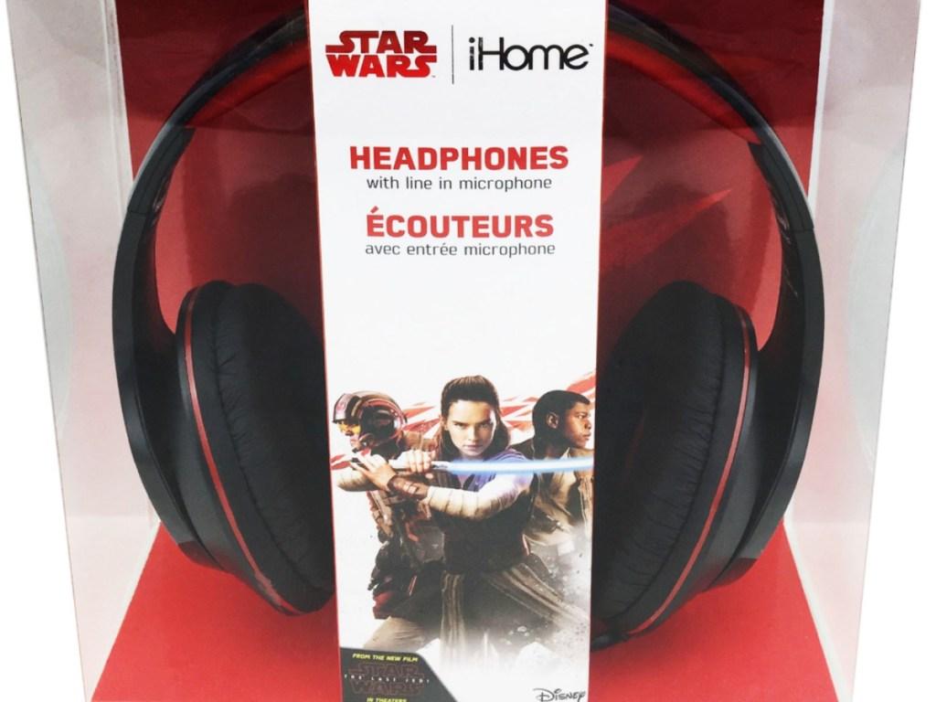 pair of headphones in packaging
