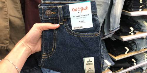 Cat & Jack Jeans from $5.60 at Target | In-Store & Online