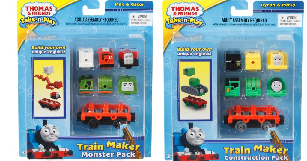 two packs of thomas and friends toy sets