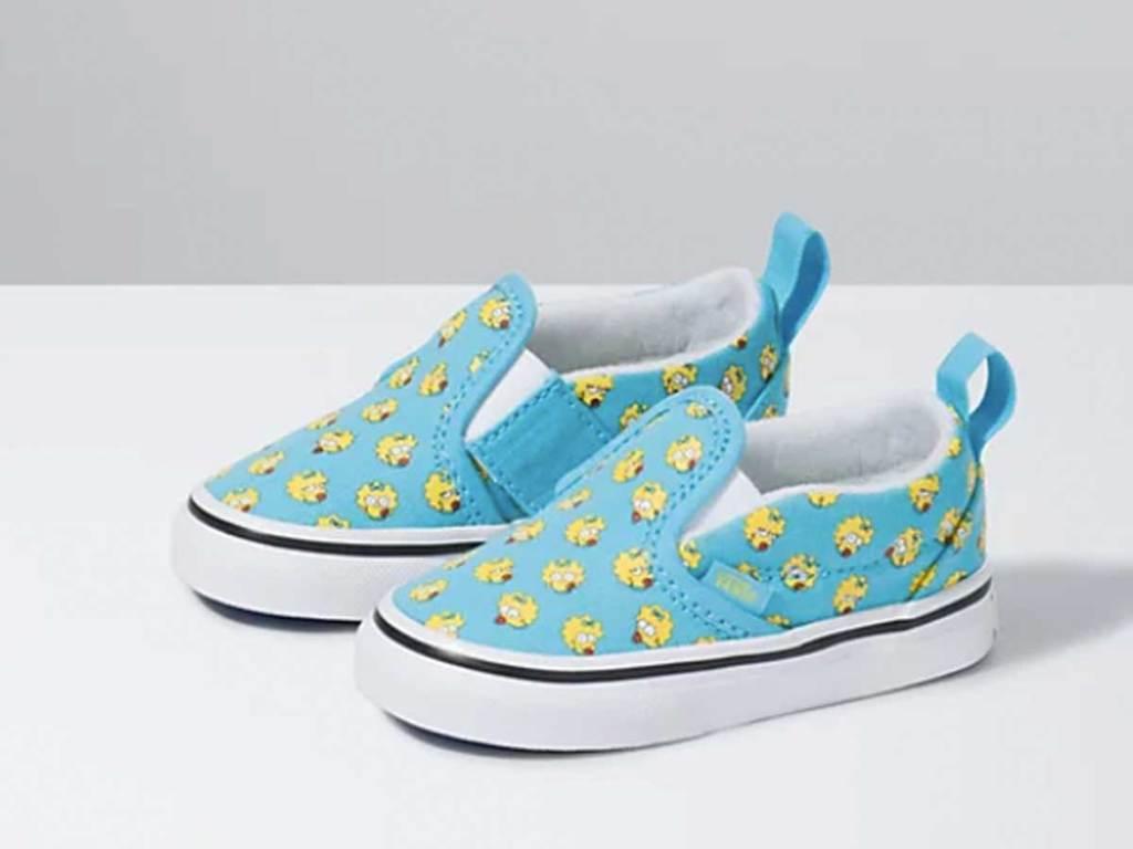 vans little girl slip on shoes maggie