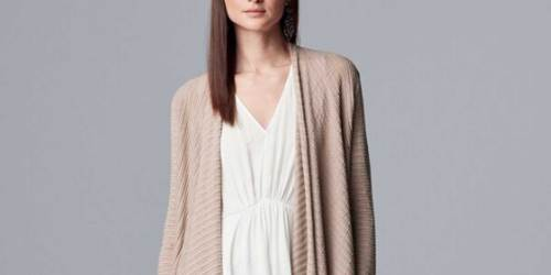 Women's Sweaters from $5.60 (Regularly $40+) + Free Shipping for Kohl's Cardholders