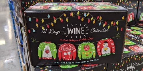 Adults Can Count Down to Christmas w/ This 12 Days of Wine Advent Calendar at Sam's Club