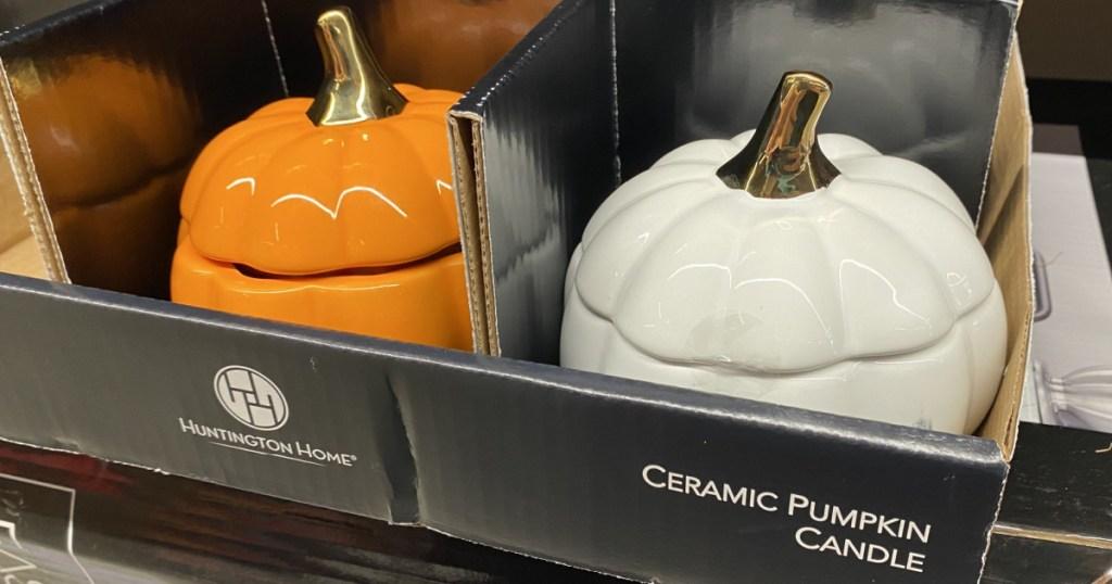 ALDI Pumpkin Candles (1)