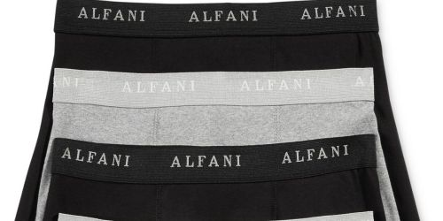 Alfani Men's Boxer Briefs 4-Pack Only $11.90 on Macys.com (Just $2.89 Per Pair!)