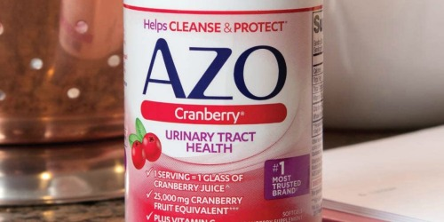 AZO Cranberry Dietary Supplement 100-Count Just $7.75 Shipped on Amazon | Thousands of 5-Star Reviews