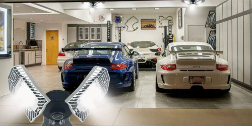 Adjustable Energy-Saving LED Garage Lights from $20.89 Shipped on Amazon   Easy to Install