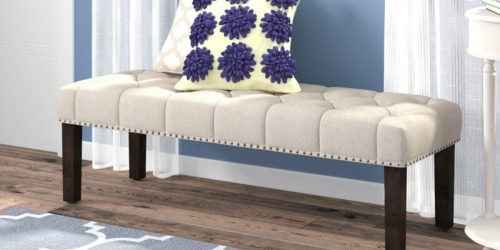 Up to 70% Off Highly Rated Benches, Armchairs & More + FREE Shipping on Wayfair
