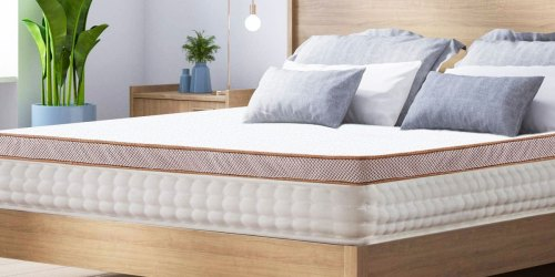 Up to 50% Off Memory Foam Mattresses & Toppers on Amazon | Includes Lavender Infused Options