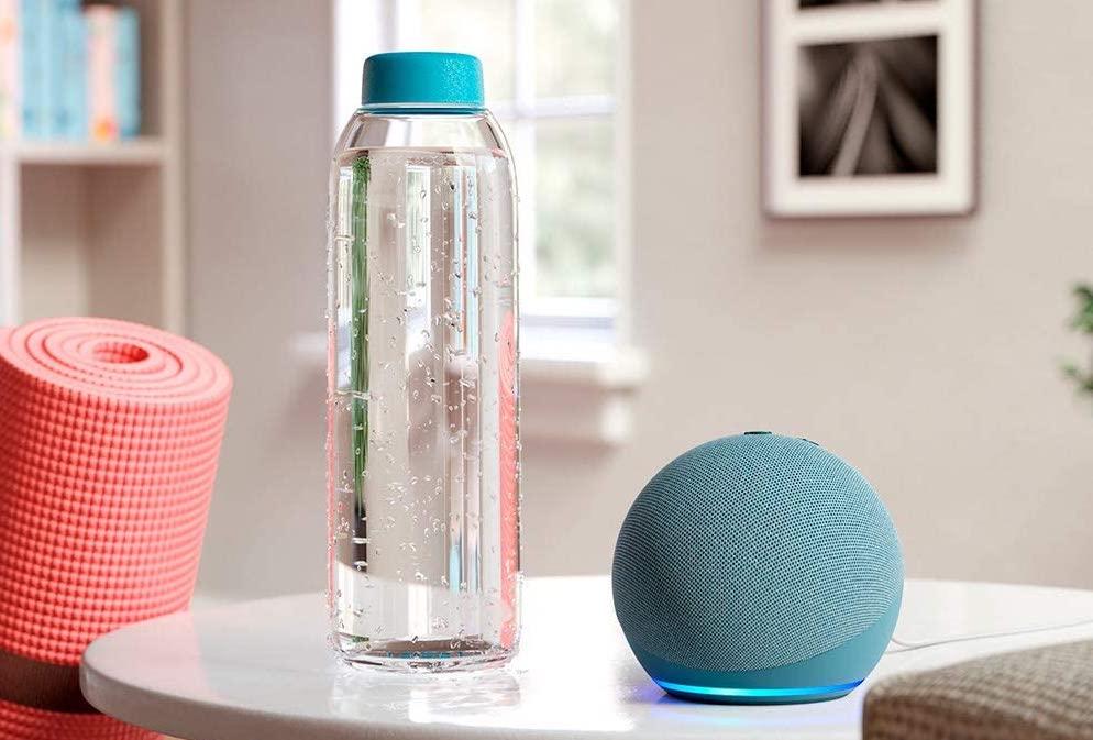 Amazon Echo Dot Newest edition sitting on table