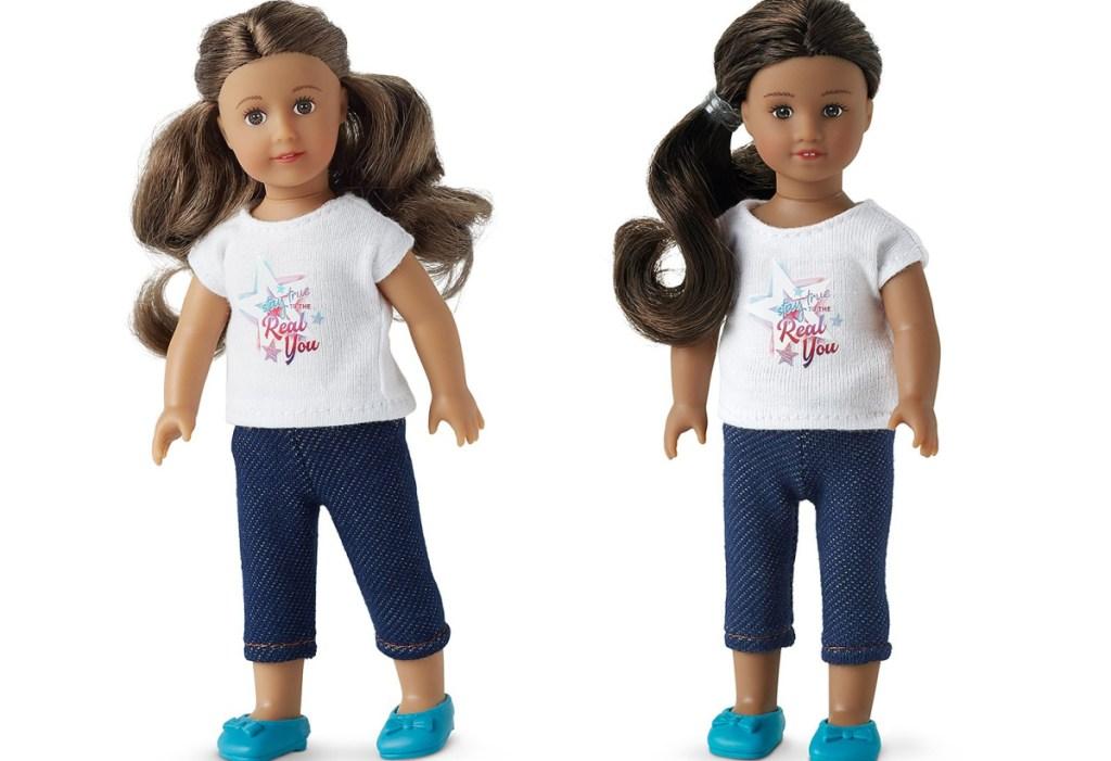 American Girl Smart Girl's Guide Mini Dolls