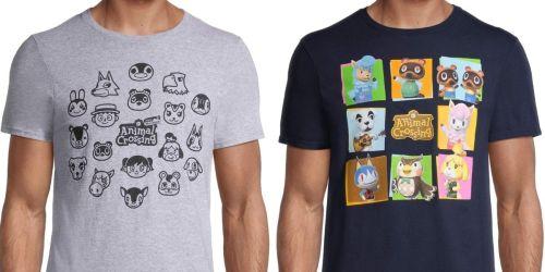 Nintendo Animal Crossing Men's Shirts from $7 on Walmart.com