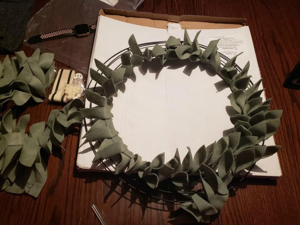 annie's workshop wreath
