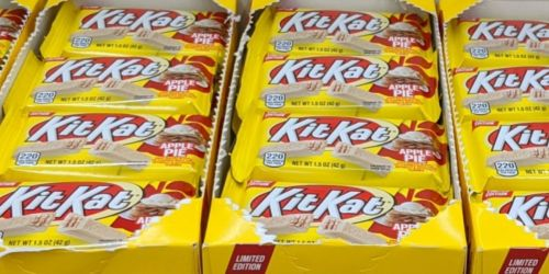 NEW Limited Edition Apple Pie Kit-Kat Only 50¢ Each at Walgreens