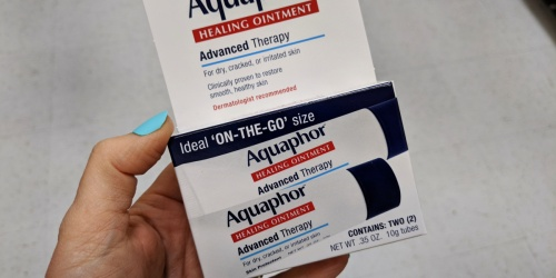 4 Aquaphor Healing Ointment Tubes Only $6.95 Shipped on Amazon | Just $1.74 Each