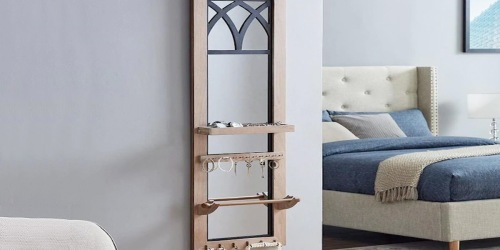 Mirrored Jewelry Organizer Just $23.53 Shipped on Lowes.com (Regularly $57)