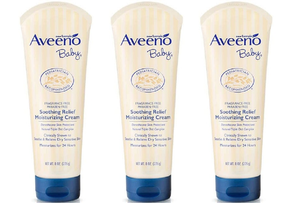 Aveeno Baby Soothing Relief 8-Ounce Moisturizing Cream