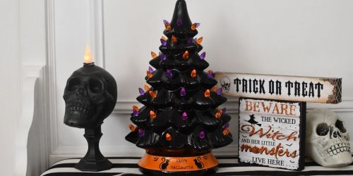 Ceramic Halloween Tree Only $35.99 Shipped | May Sell Out!