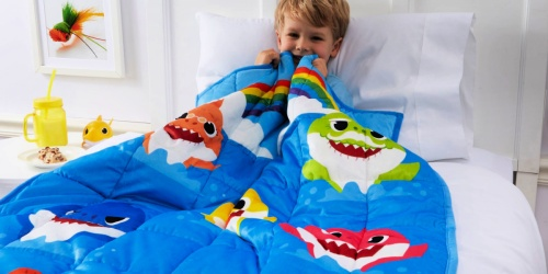 Baby Shark Weighted Blanket Only $14.97 on Walmart.com (Regularly $50)